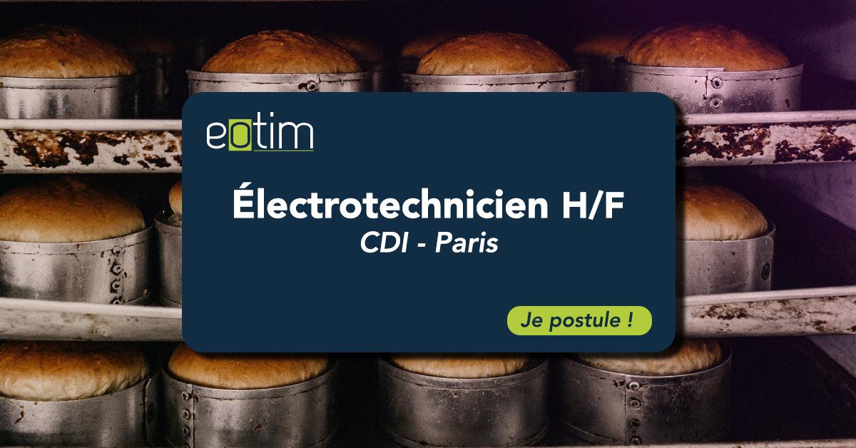 Électrotechnicien - Techicien du froid H/F