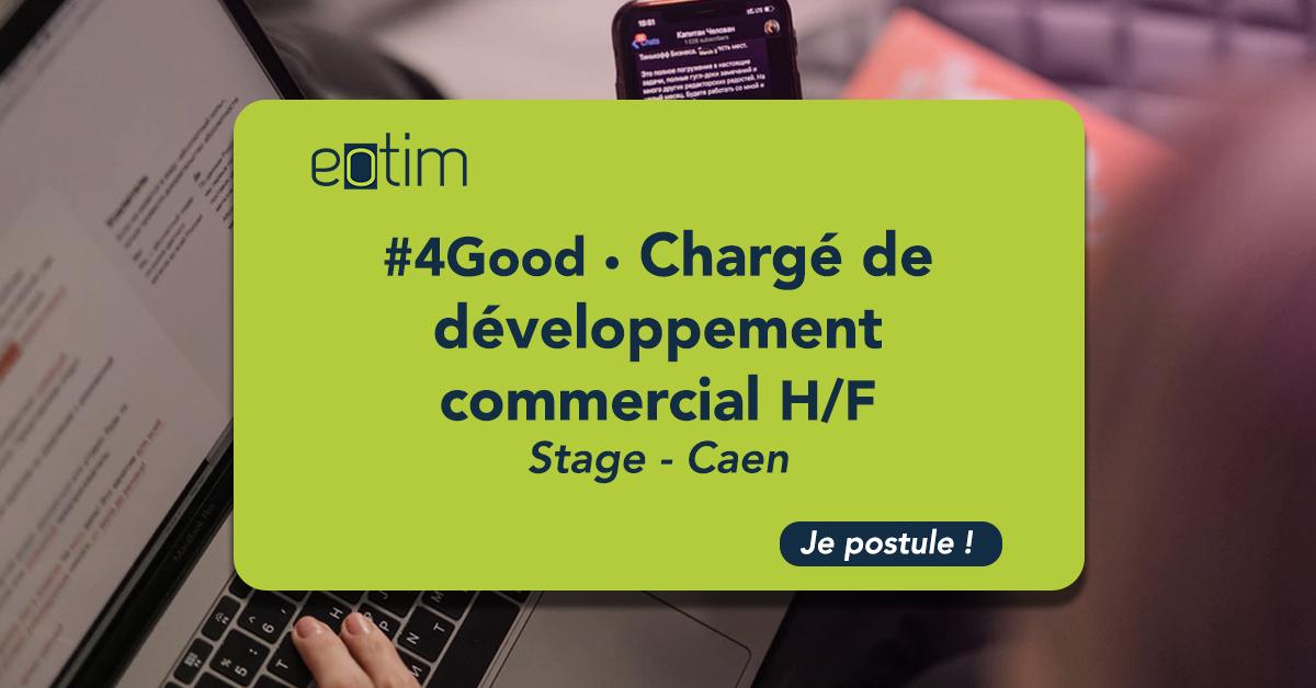 #4Good • Stage chargé de développement commercial (H/F)