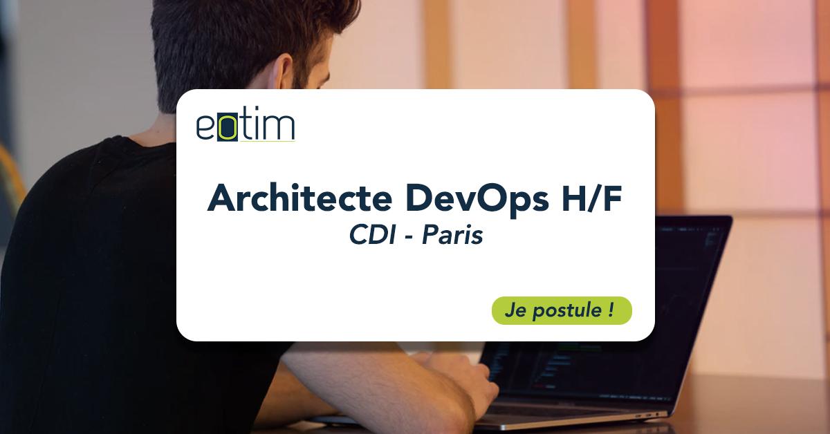 Architecte DevOps H/F