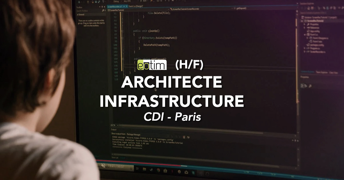 Architecte infrastructure H/F