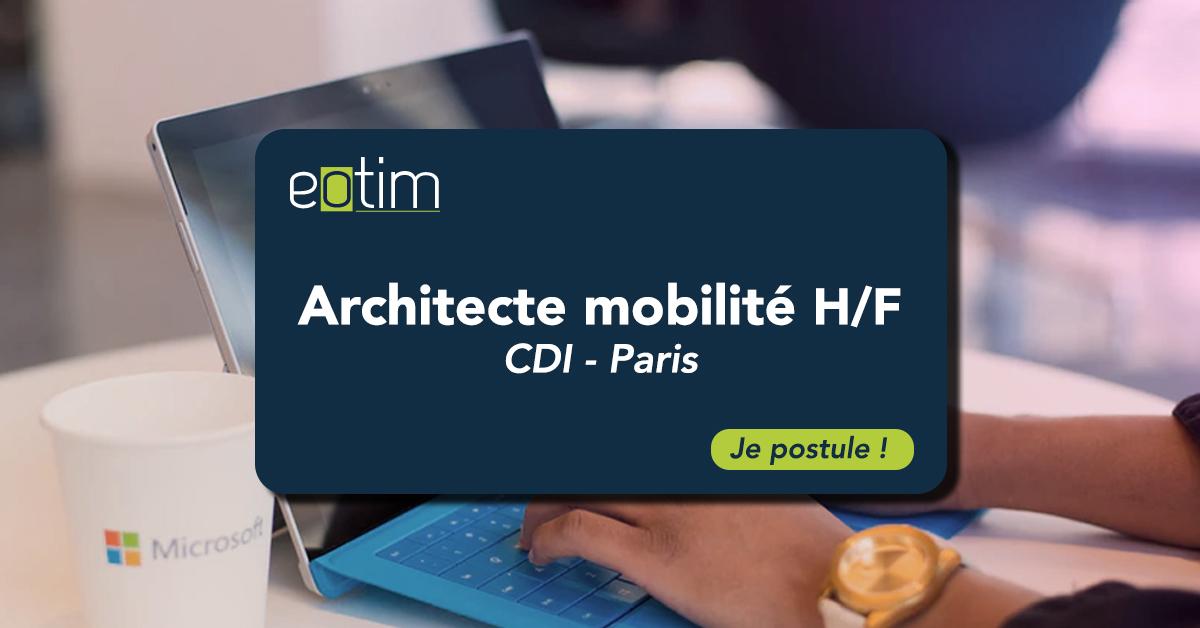 Architecte Mobilité H/F