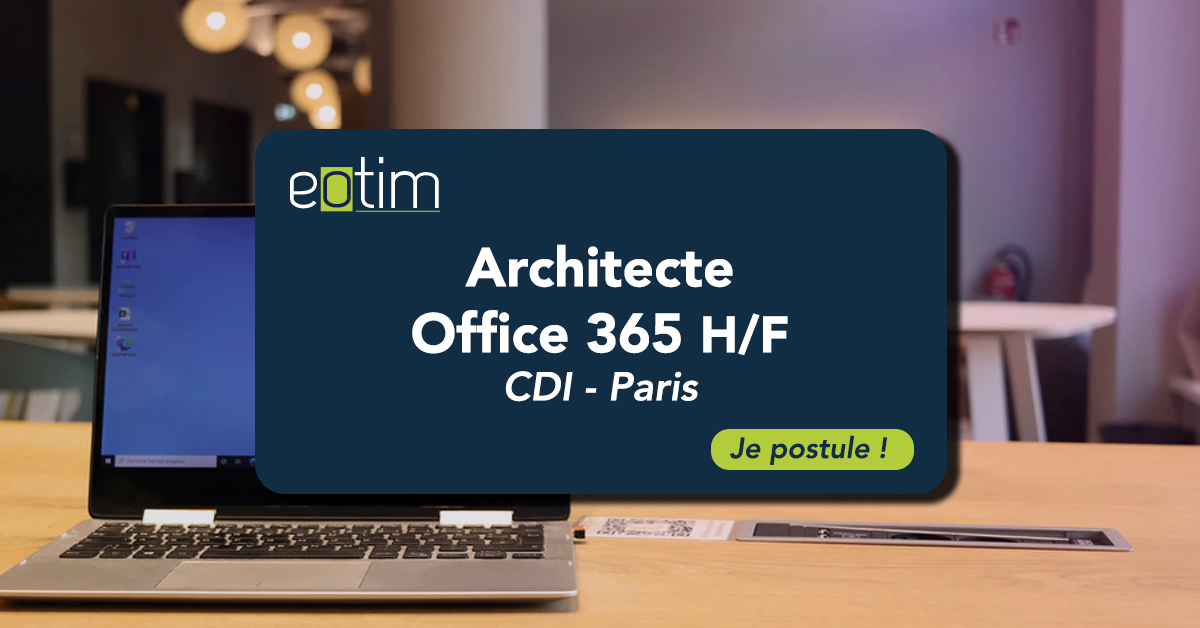 Architecte Office 365 H/F