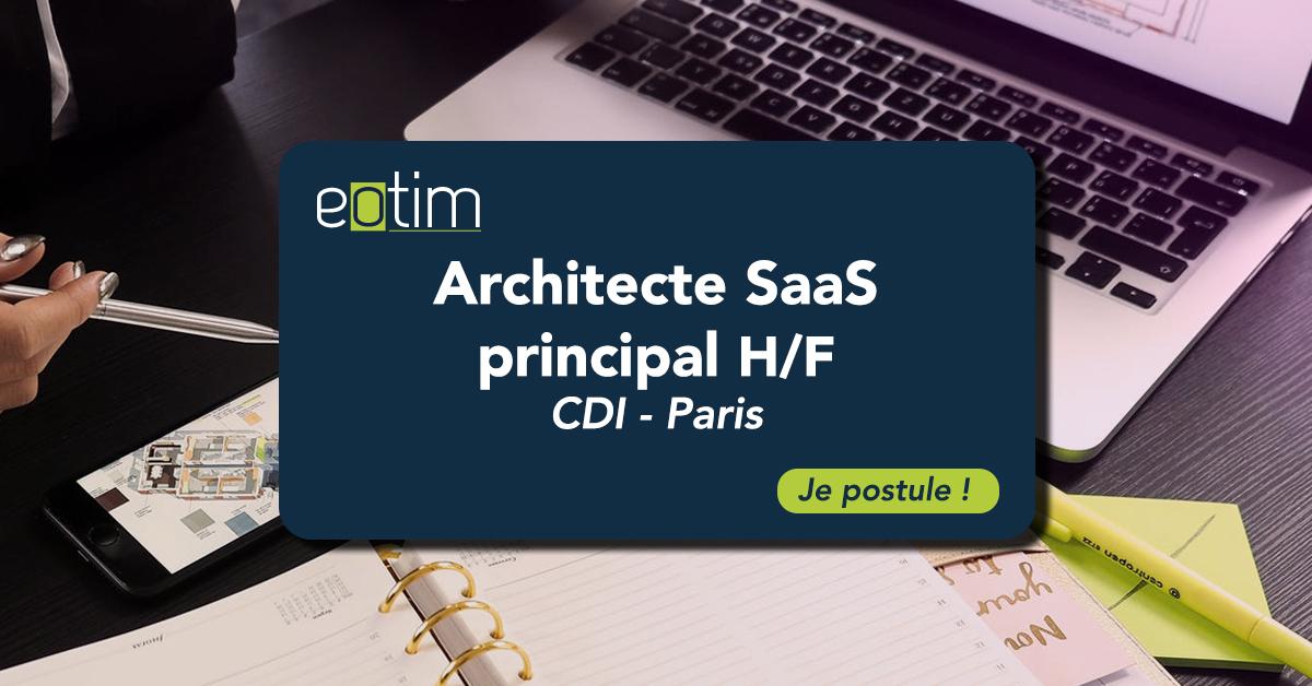 Architecte SaaS principal H/F