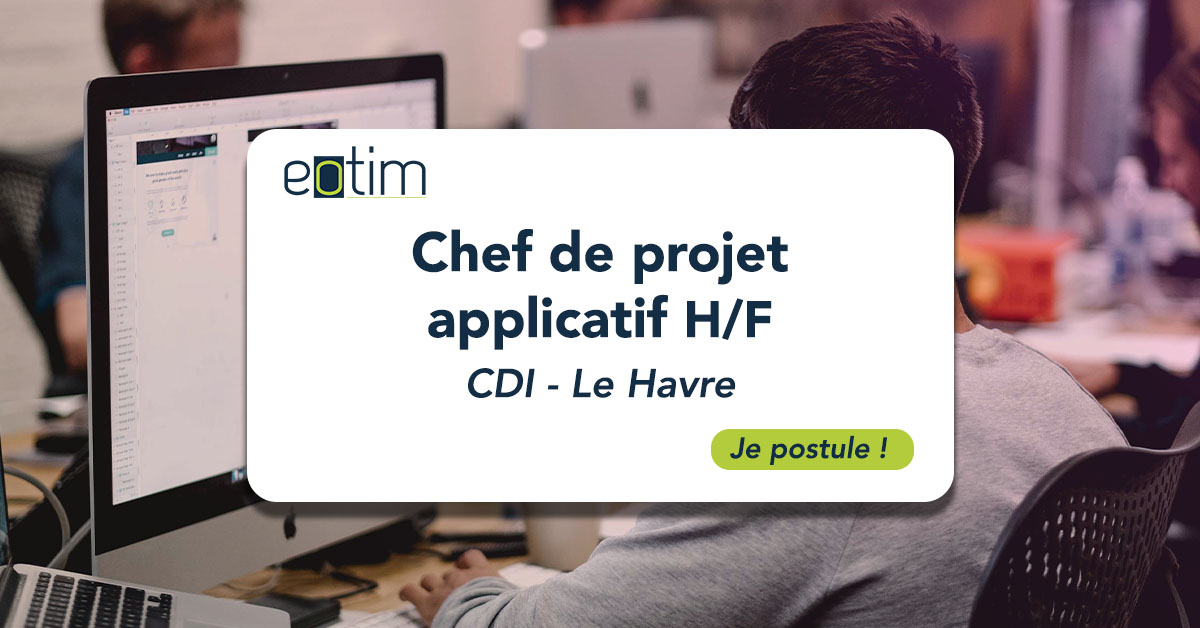 Chef de projet applicatif H/F