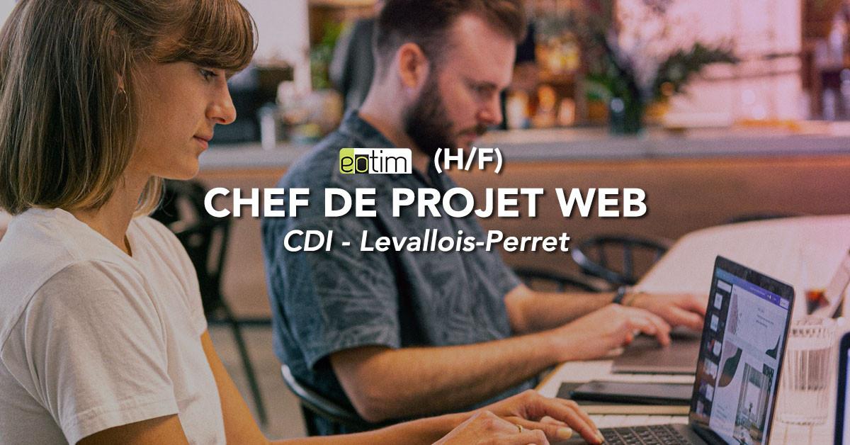Chef de projet web H/F