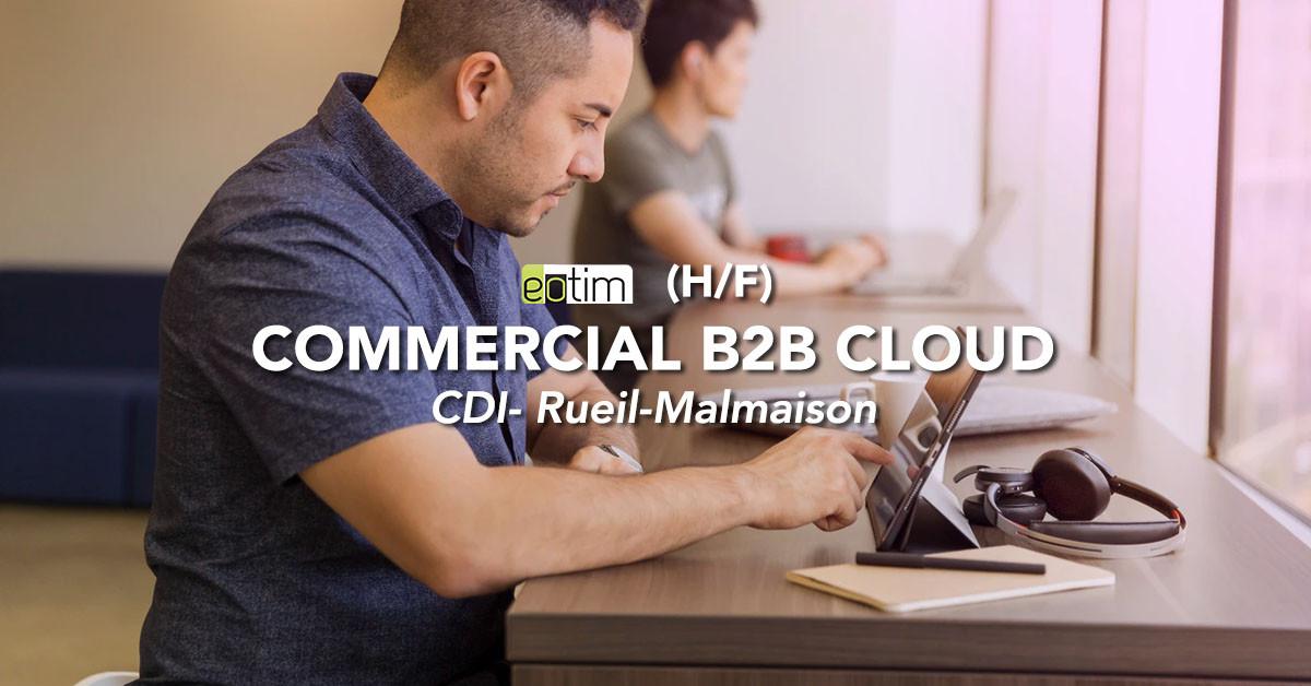 Commercial B2B cloud (H/F)