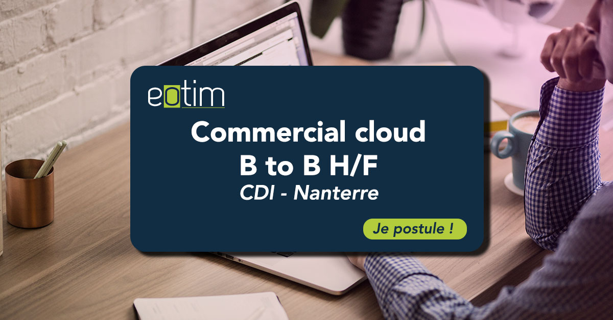 Commercial cloud BtoB (H/F)