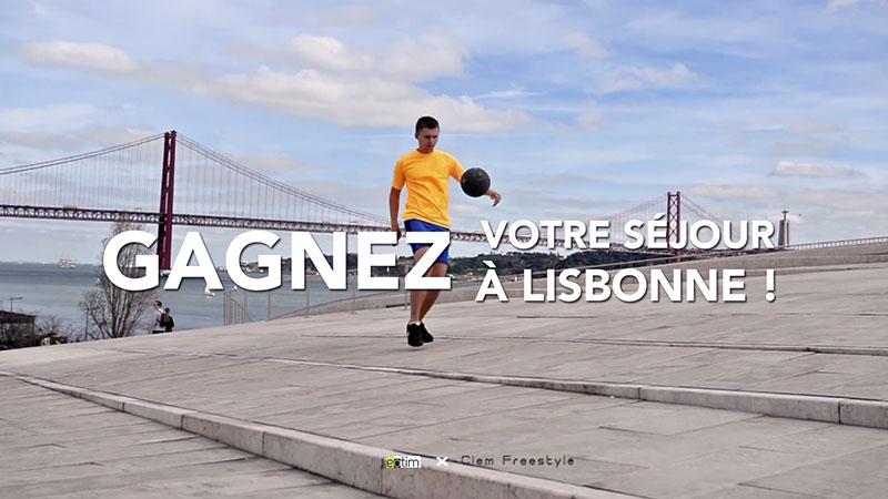 Concours : Gagnez vos billets d'avion pour Lisbonne !