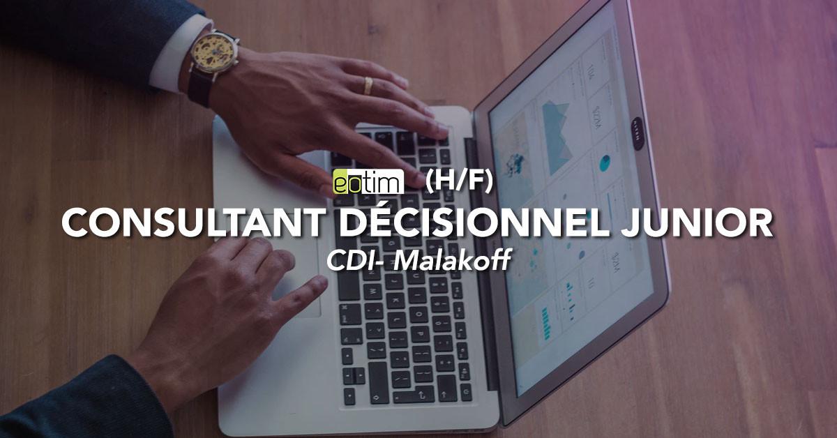 Consultant décisionnel junior (H/F)