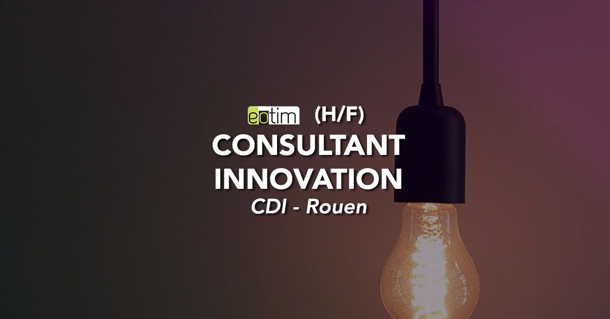Consultant innovation H/F