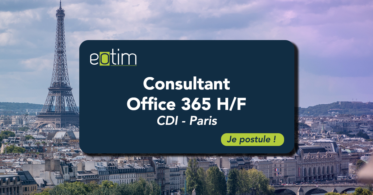 Consultant Office 365 H/F