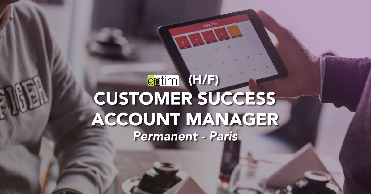 Customer Success Account Manager M/F