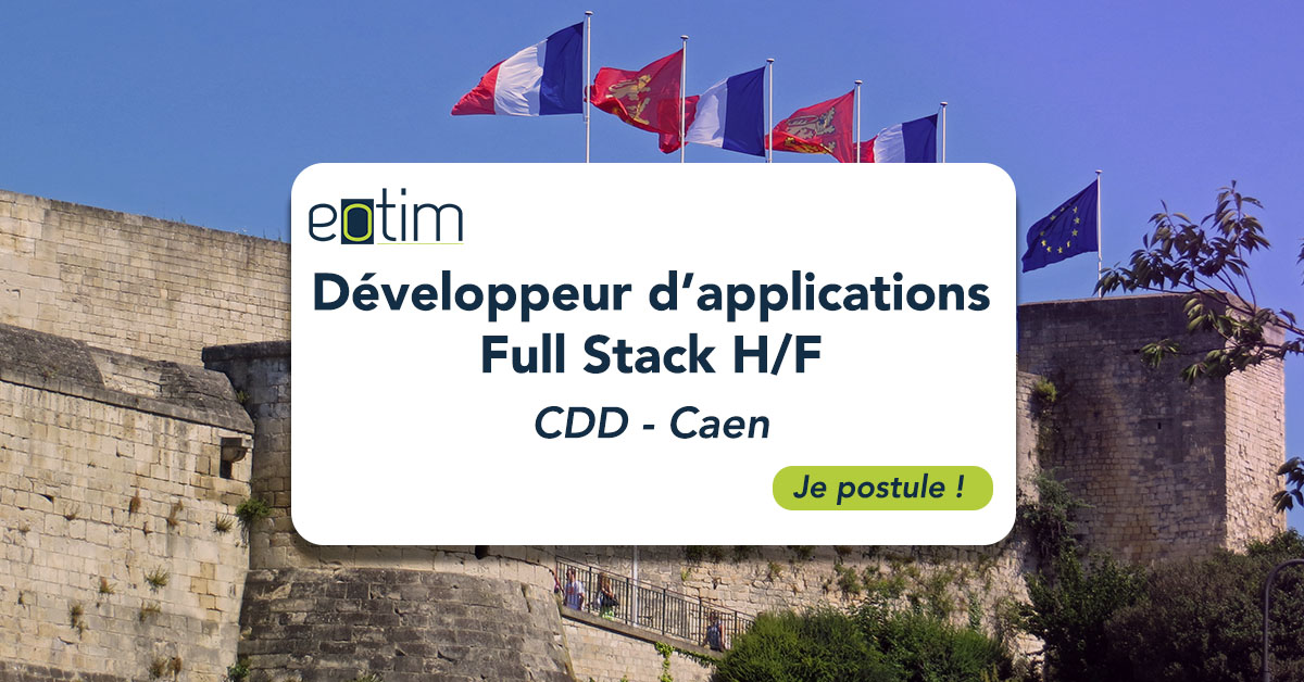 Développeur d'applications Full Stack H/F