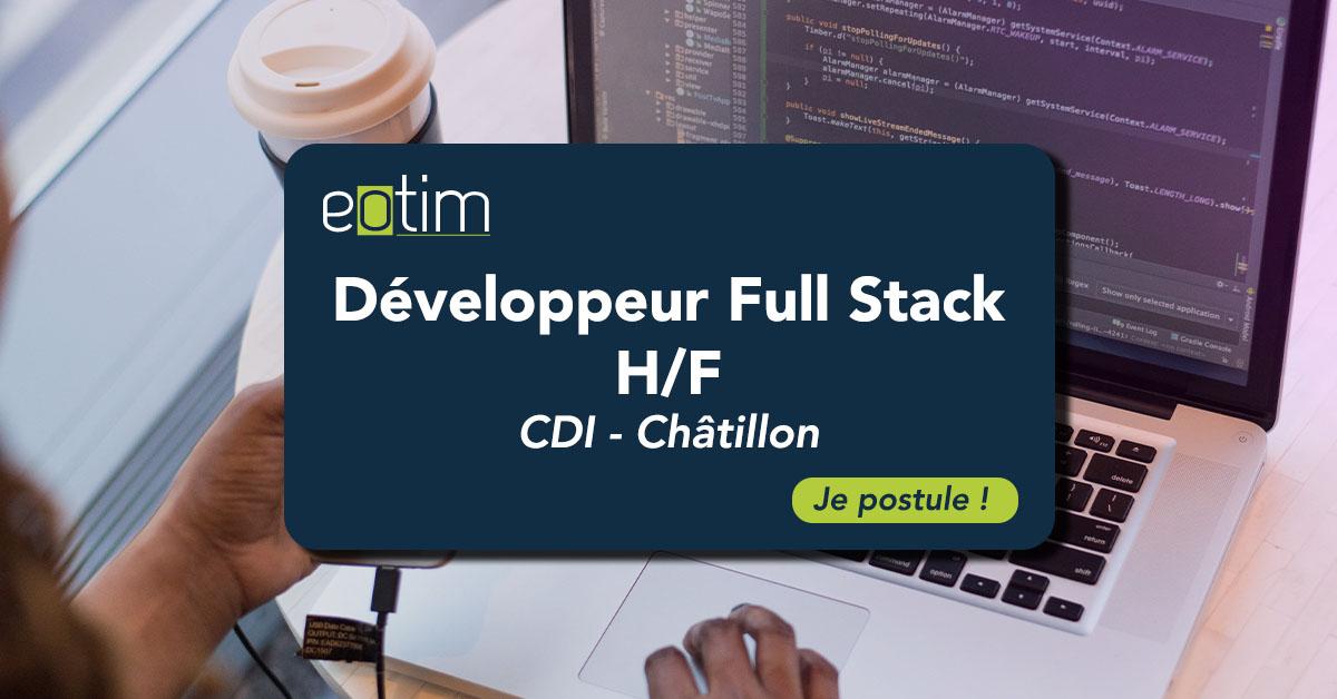 Développeur Full Stack H/F