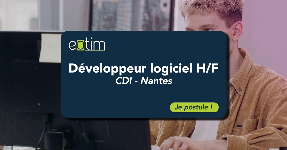 Développeur logiciel H/F
