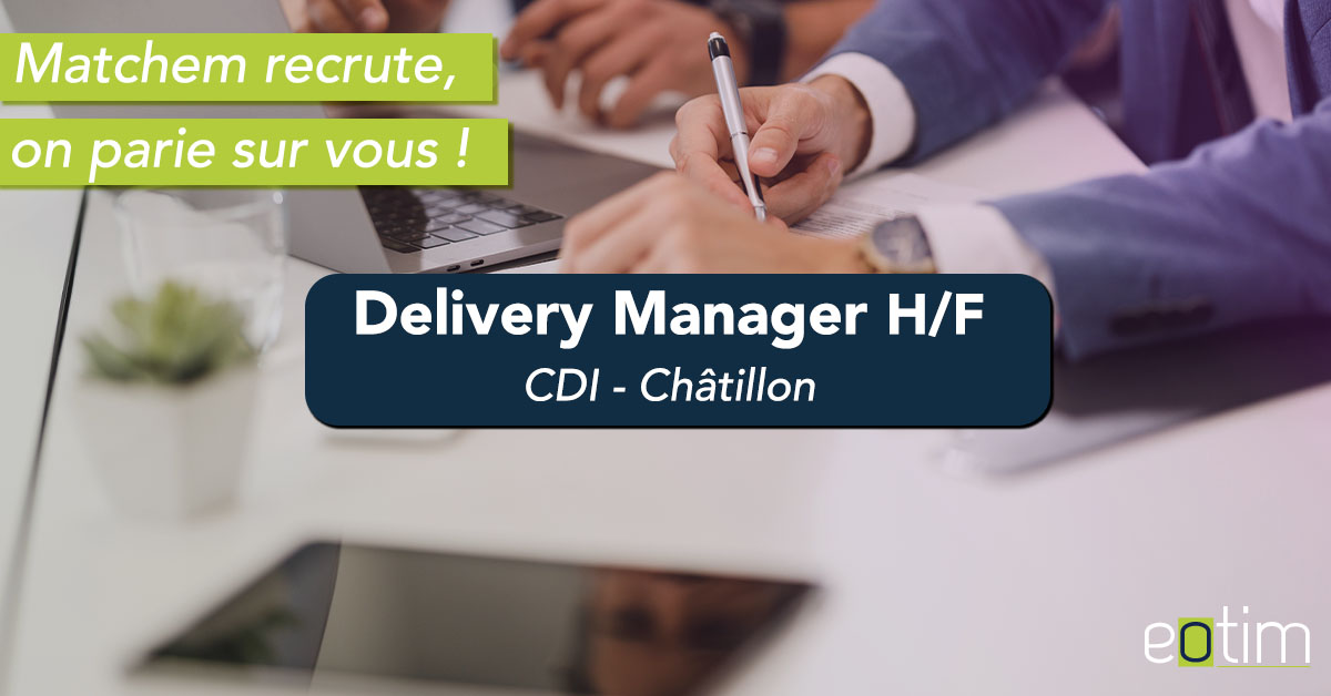 Delivery Manager H/F