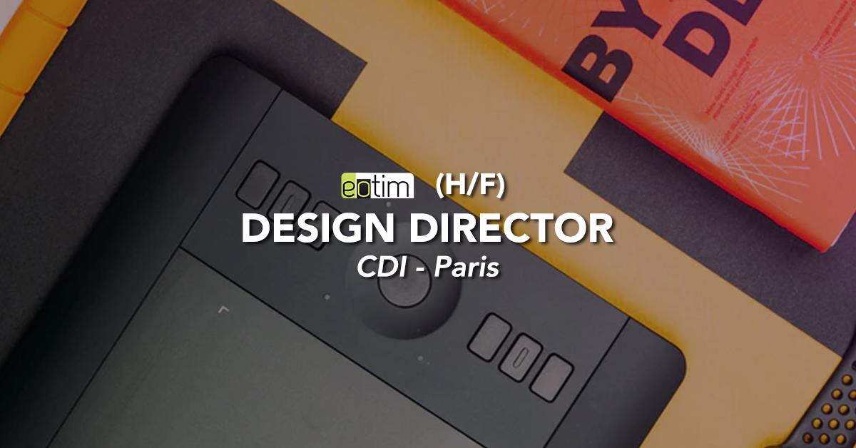 Design Director H/F