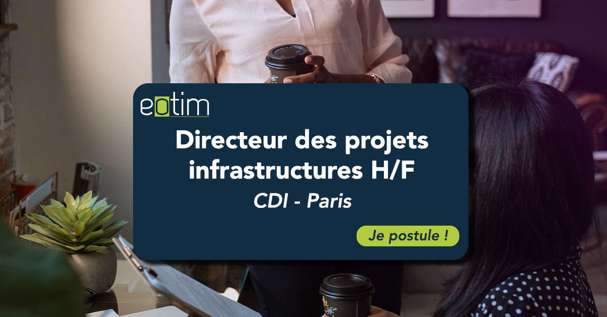 Directeur des projets infrastructures H/F