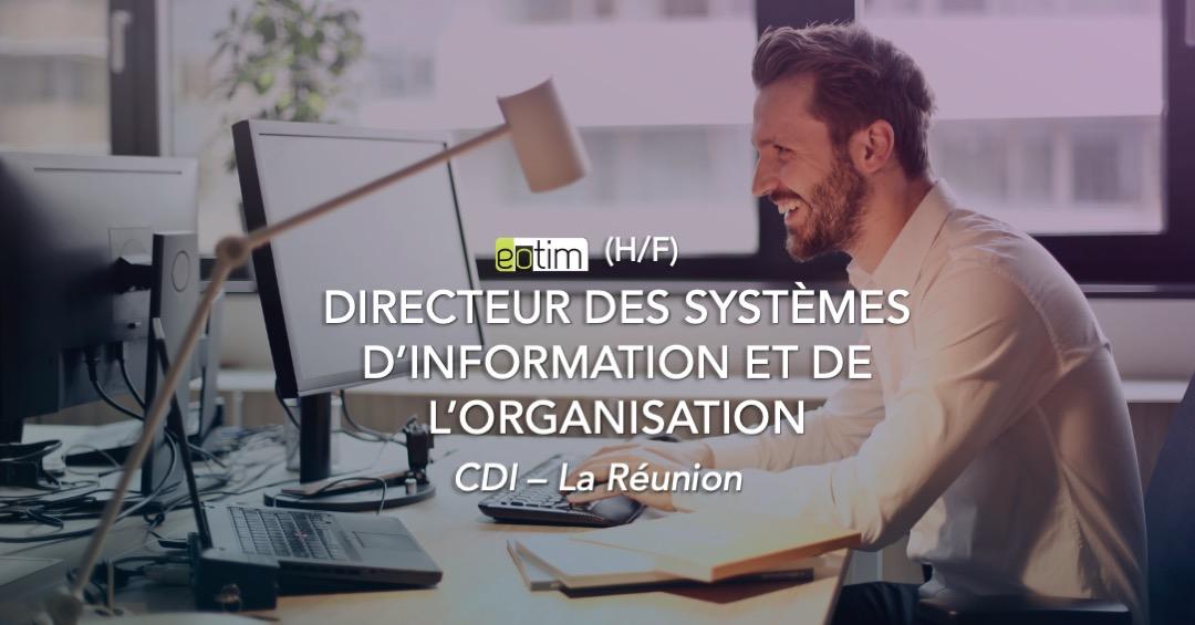 Directeur des Systèmes d'Information et de l'Organisation H/F