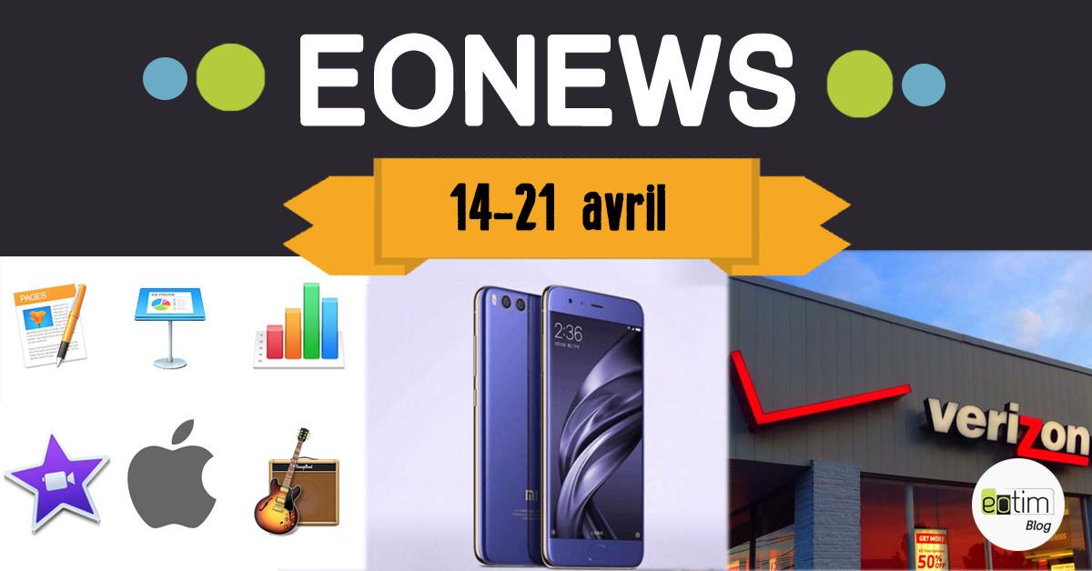 Eonews : l'essentiel de la semaine (14-21 avril)