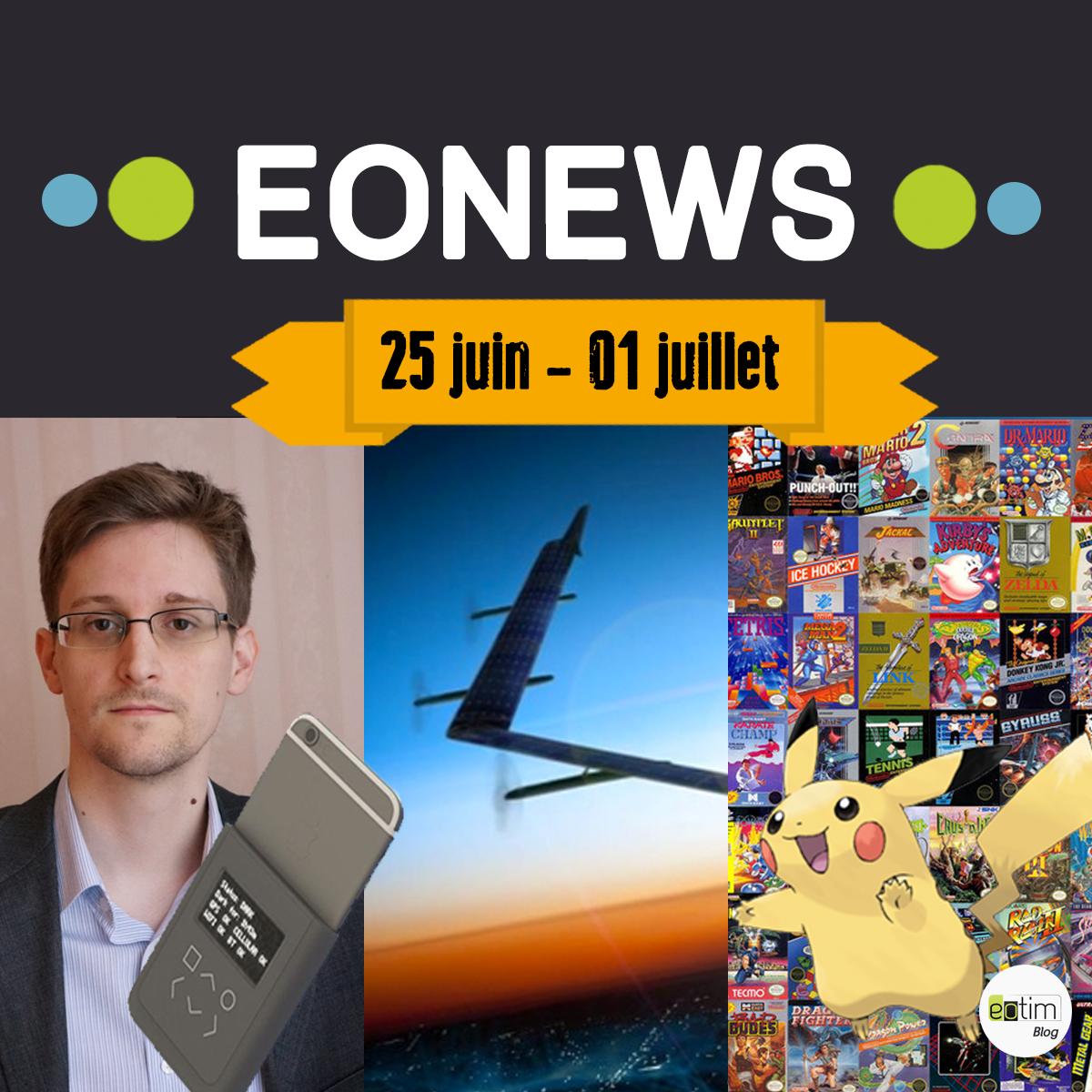 Eonews : l'essentiel de la semaine (16-22 juillet)