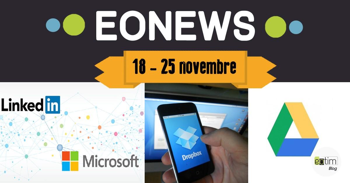 Eonews : l'essentiel de la semaine (18 - 25 novembre)