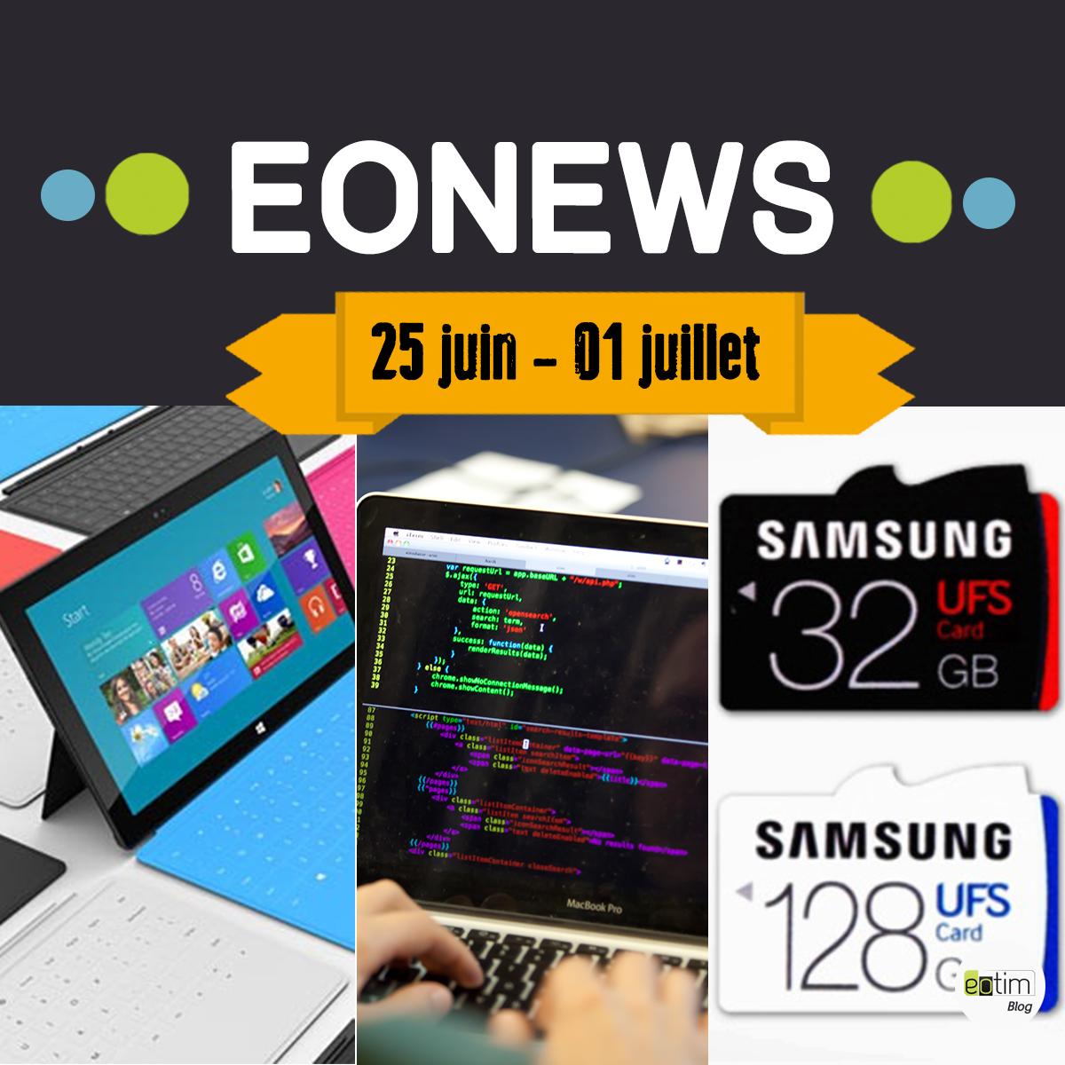 Eonews : l'essentiel de la semaine (2-8 juillet)