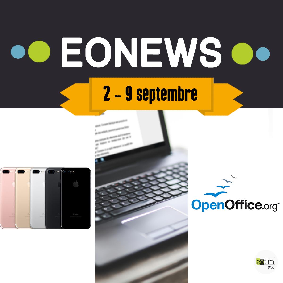 Eonews : l'essentiel de la semaine (2 - 9 septembre)