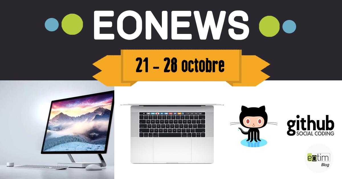 Eonews : l'essentiel de la semaine (21 - 28 octobre)