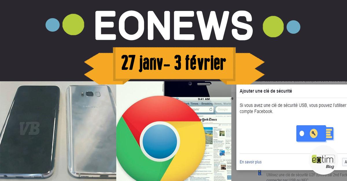 Eonews : l'essentiel de la semaine (27 janv - 3 février)