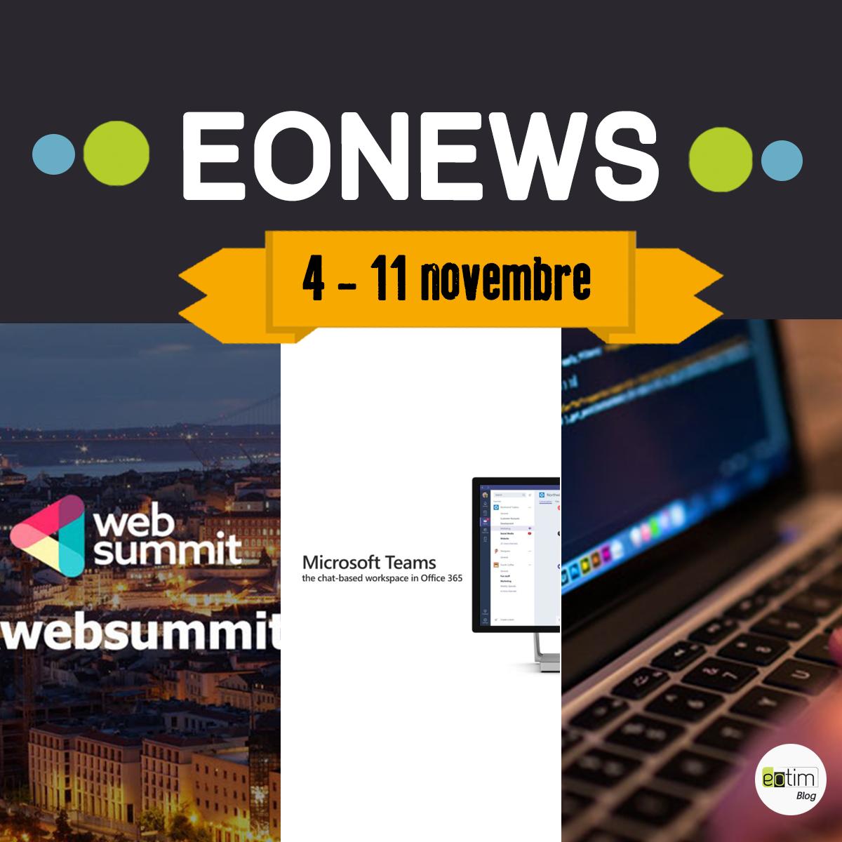 Eonews : l'essentiel de la semaine (4-11 novembre)