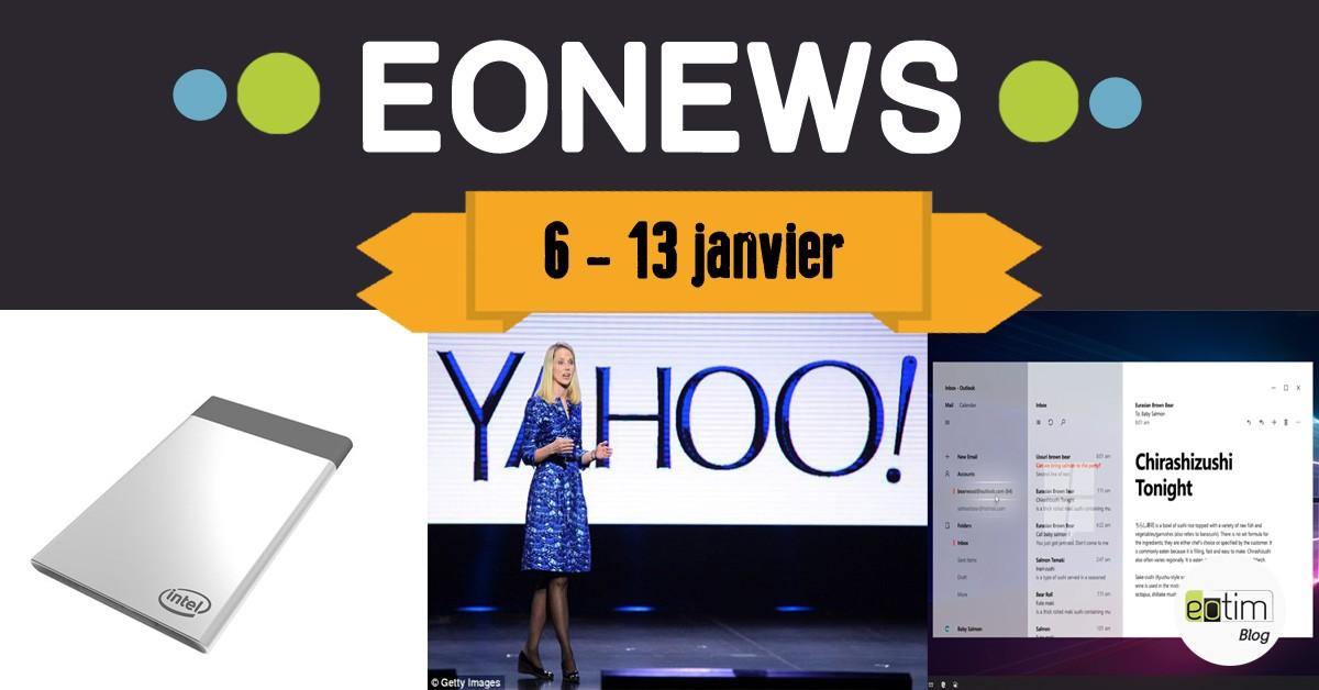 Eonews : l'essentiel de la semaine (6 - 13 janvier)