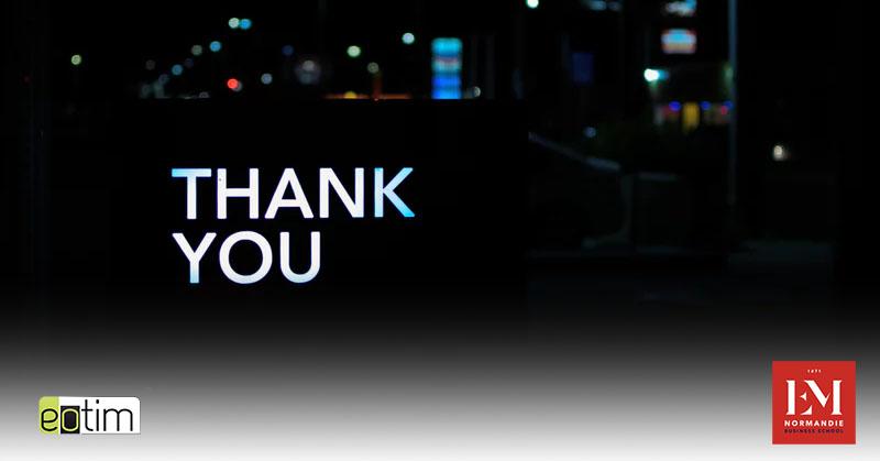 Eotips #126 : Ce mail de remerciement qui peut faire toute la différence