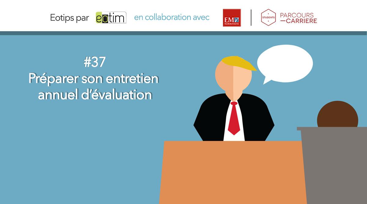 Eotips #37 Comment vous préparer pour votre entretien annuel d'évaluation ?