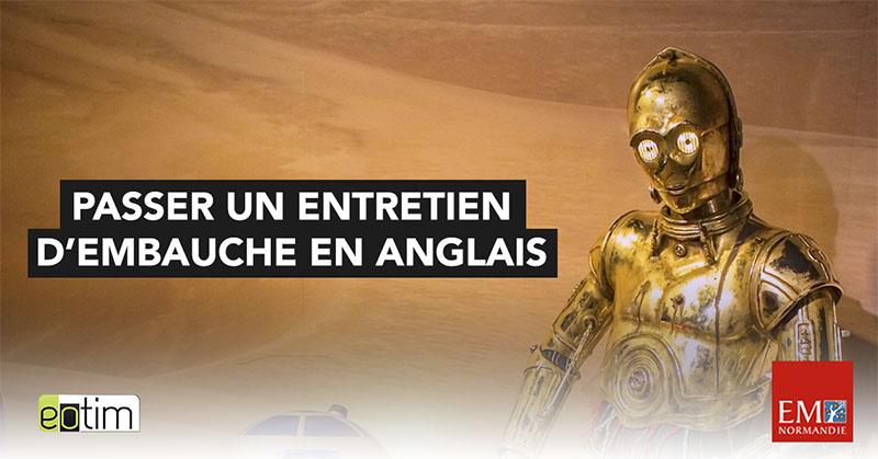 Eotips #73 : Passer un entretien d'embauche en anglais (ou en espagnol, en allemand...)