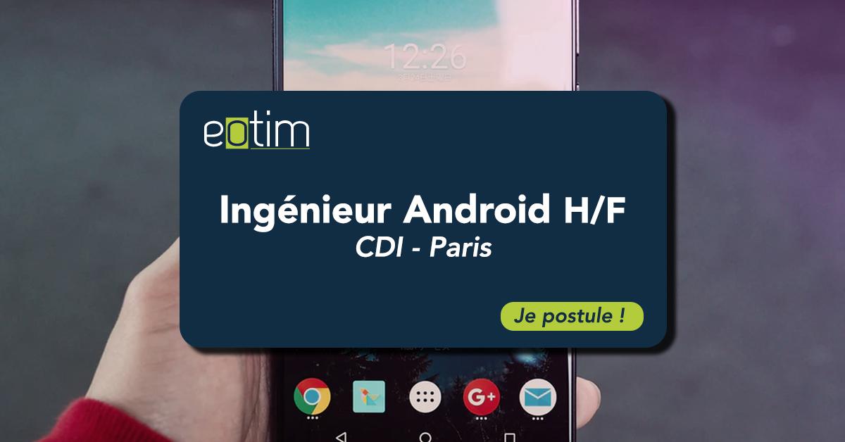 Ingénieur Android H/F