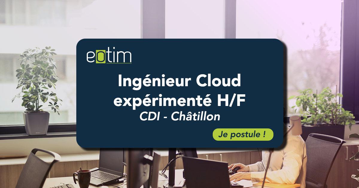 Ingénieur Cloud expérimenté H/F