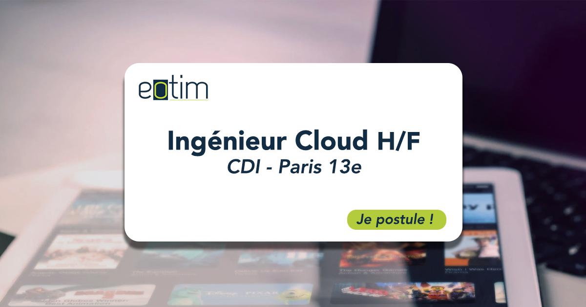 Ingénieur Cloud H/F