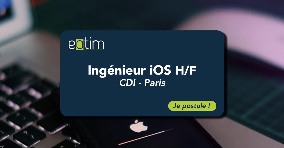 Ingénieur iOS H/F