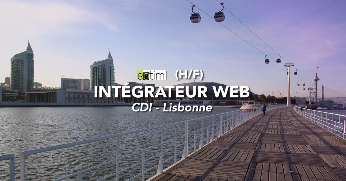 Intégrateur Web H/F