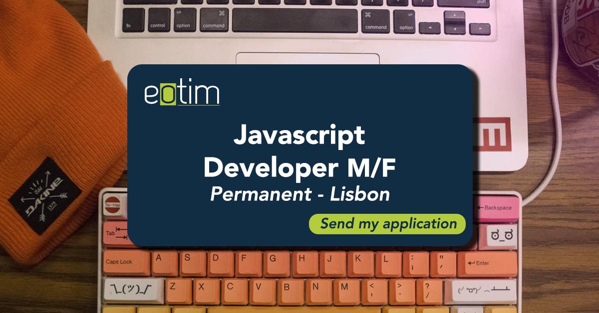 Javascript Developer M/F