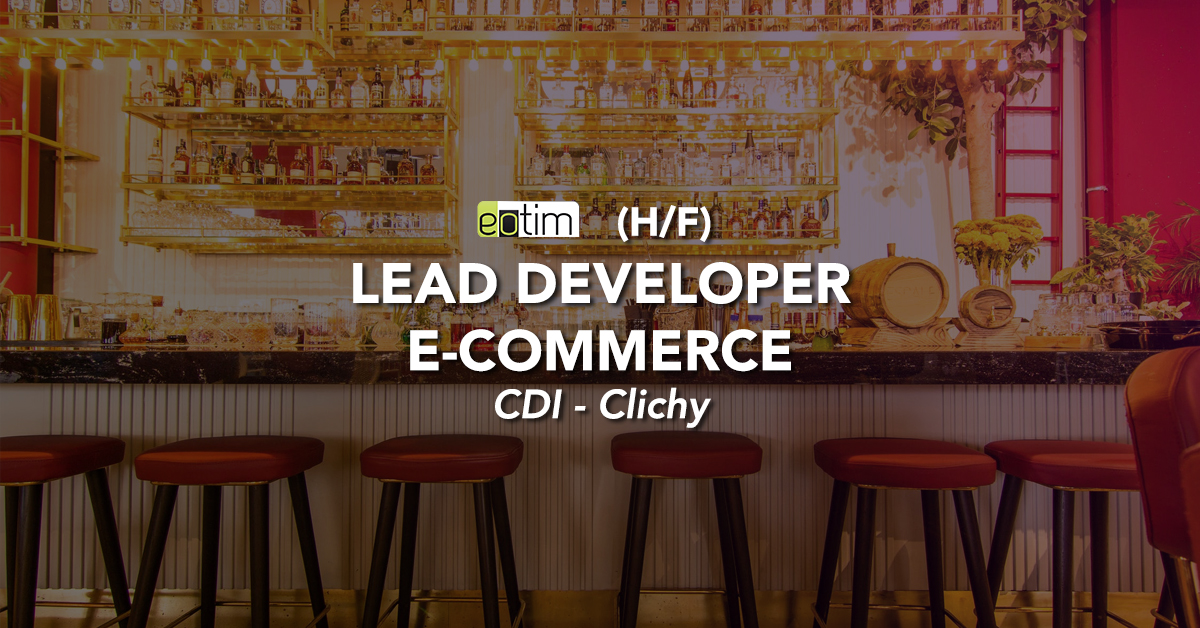 Lead Developer e-commerce H/F