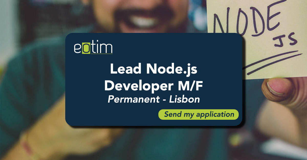 Lead Node.js Developer M/F