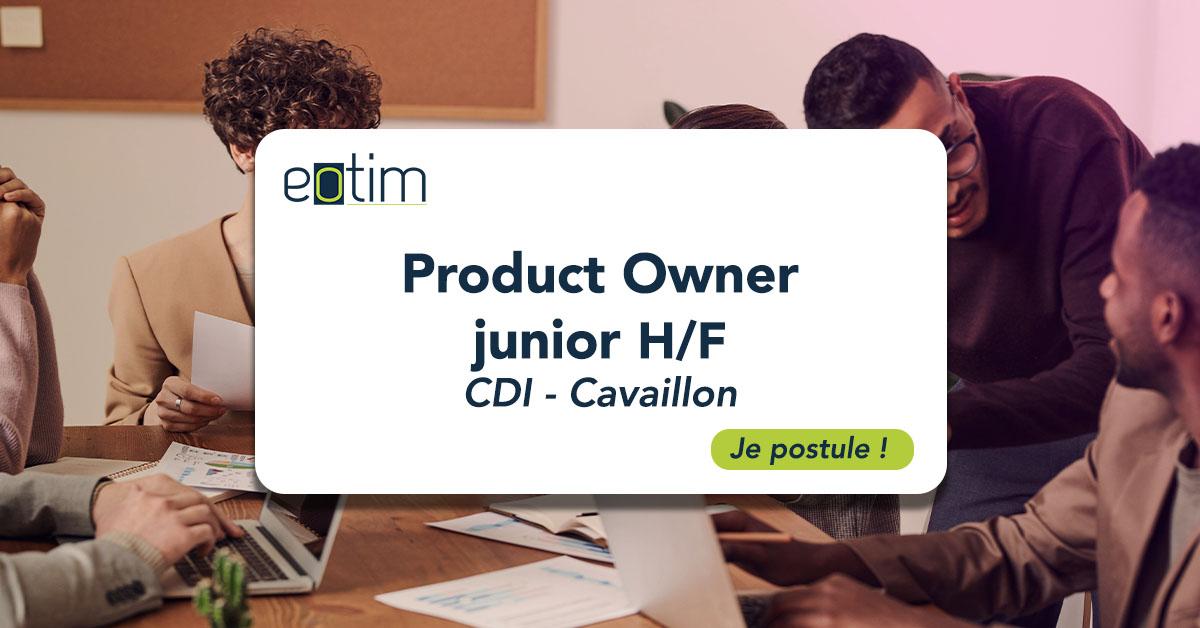 Product Owner junior H/F