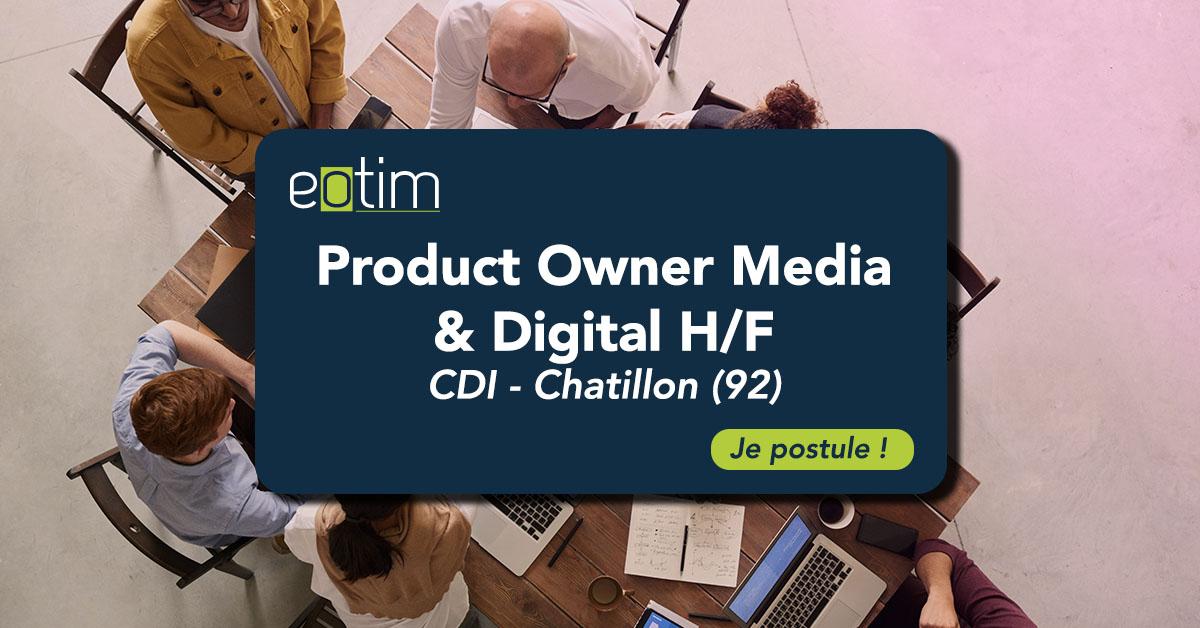 Product Owner Media & Digital H/F