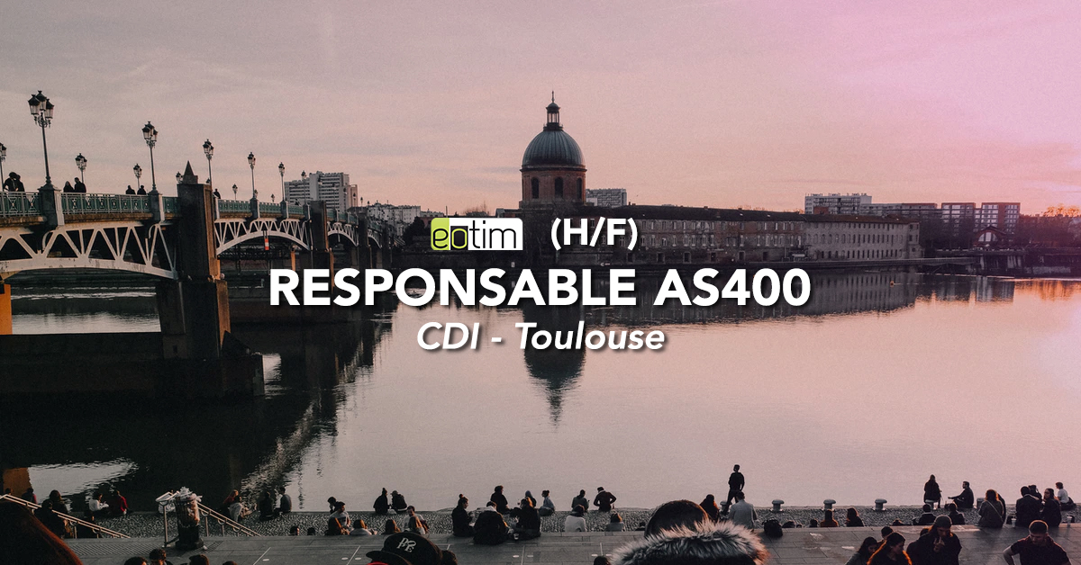 Responsable AS 400 H/F