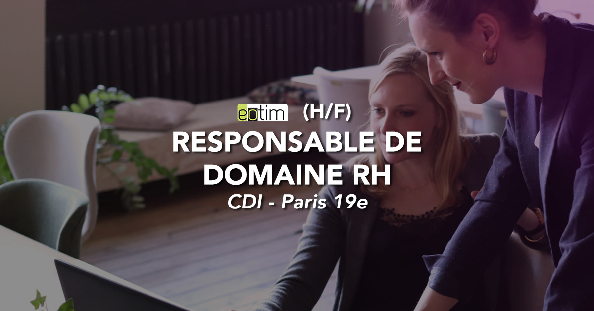 Responsable de domaine RH H/F