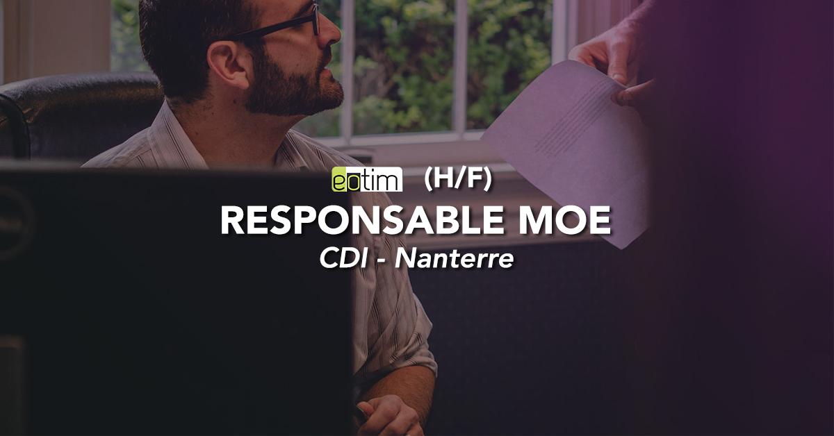 Responsable MOE H/F