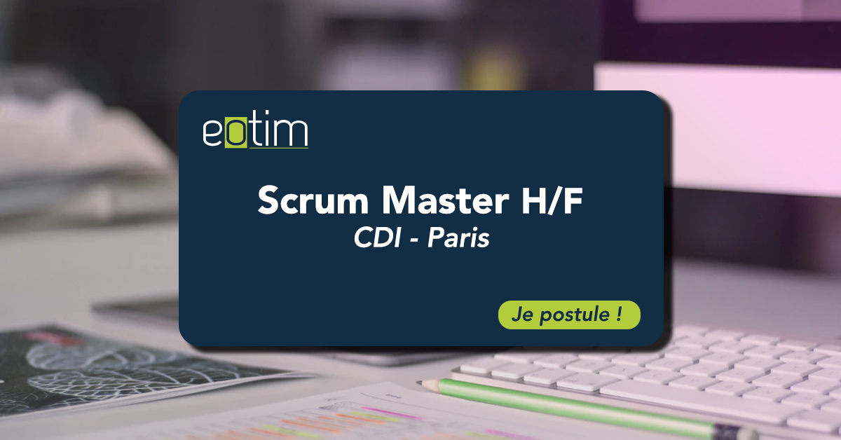 Scrum Master H/F
