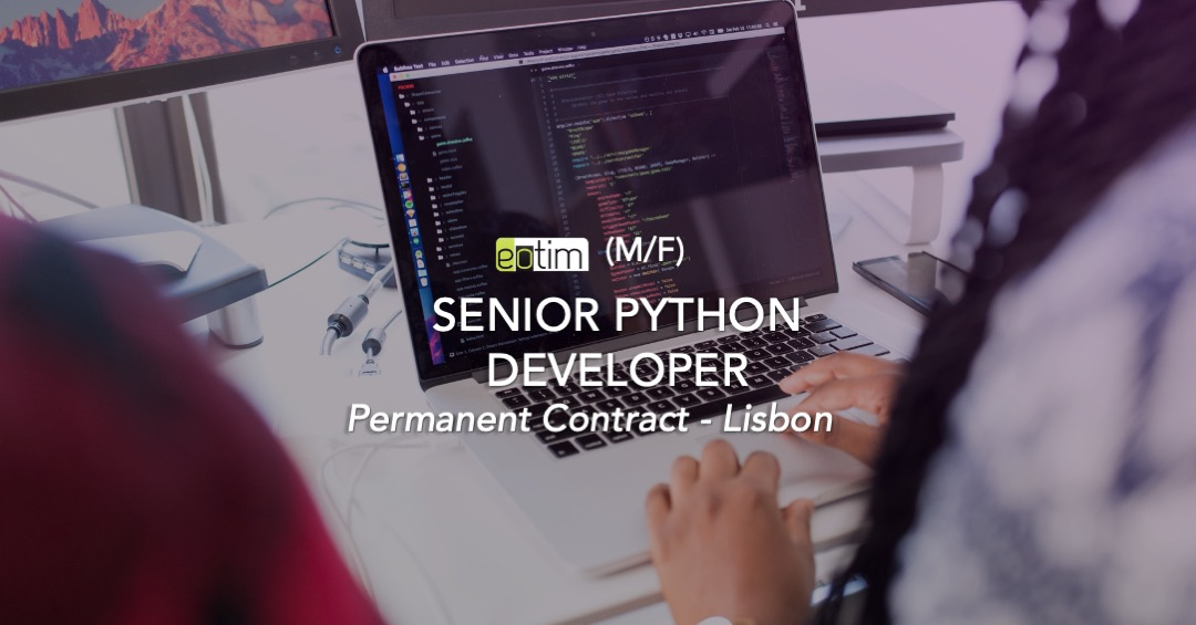 Senior Python Developer M/F